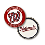 Washington Nationals Double Sided Ball Marker Golf Gift