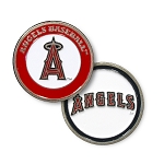 Los Angeles Angels Double Sided Ball Marker Golf Gift