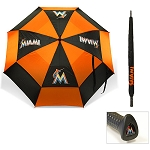 Miami Marlins Umbrella Golf Gift