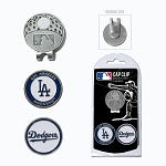 Los Angeles Dodgers 2 Marker Cap Clip Golf Gift