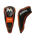 Miami Marlins Hybrid Head Cover Golf Gift