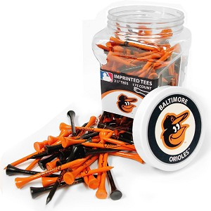 Baltimore Orioles 175 Tee Jar Golf Gift