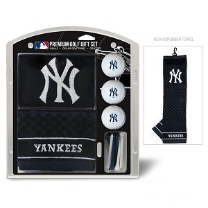 New York Yankees Embroidered Gift Set Golf Gift
